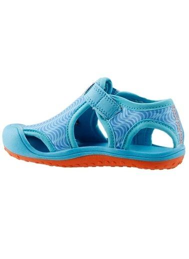 Ayakland Ayakland Kids Mavi Aqua Erkek Çocuk  Sandalet Panduf Ayakkabı Mavi